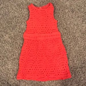 Crewcuts toddler lace knit dress